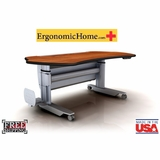 Ergonomic Home PACS Radiology Desk