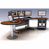 Ergonomic Home PACS Workstation | Radiology Desk