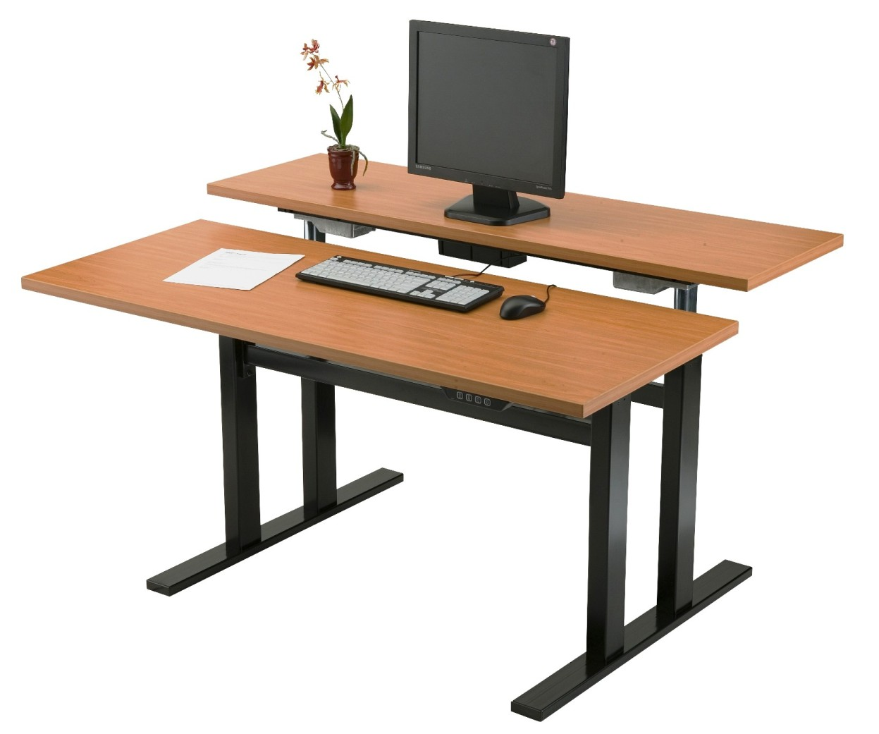 adjustable computer desk for standing