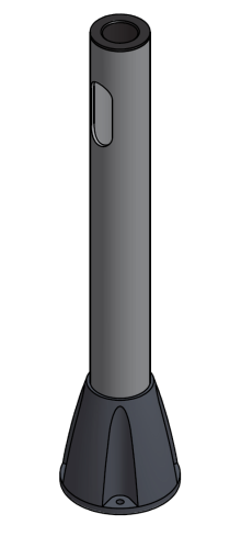 "Floor Mount Pole 24"" H or 27""H. <b><font color=red>NOTE: THIS IS CUSTOM AND CANNOT BE RETURNED. BY PLACING ORDER YOU AGREE TO THESE TERMS.</b></font>"