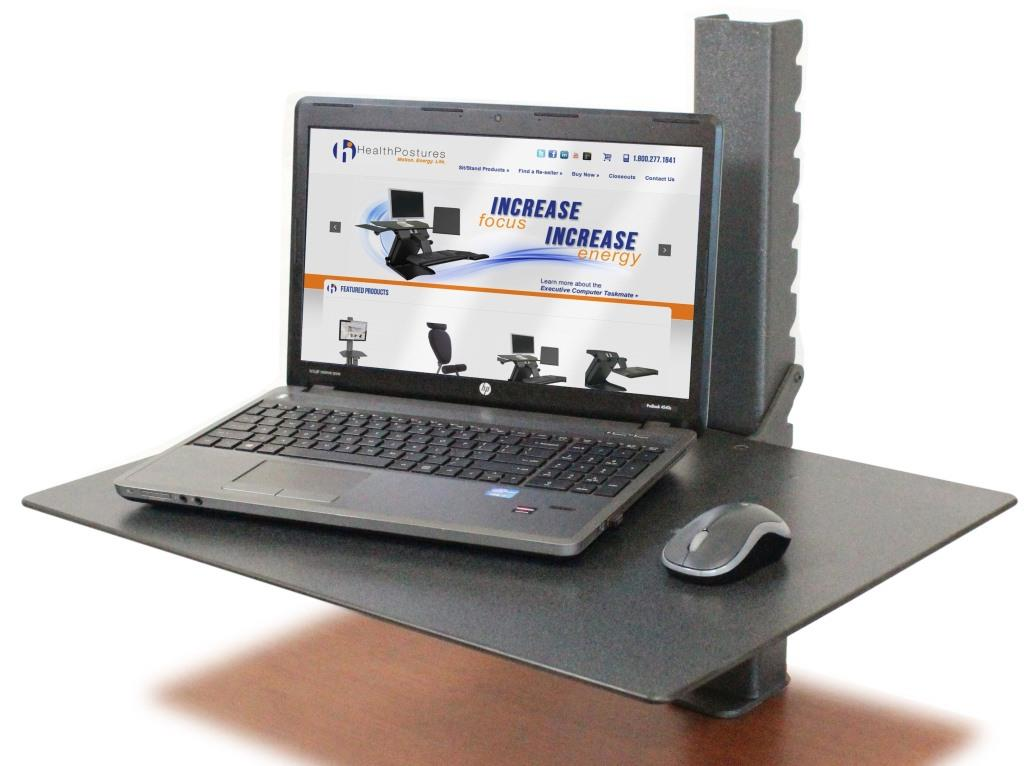 HEALTH POSTURE TASKMATE SURFACE 6450 | Sit To Stand Desk