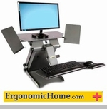 Adjustable Ergonomic Home Health Postures Monitor Stand #6100