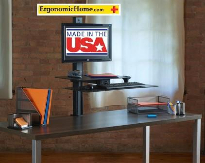 Health Postures Slide Adjustable Sit Stand Desk Accessory #6370