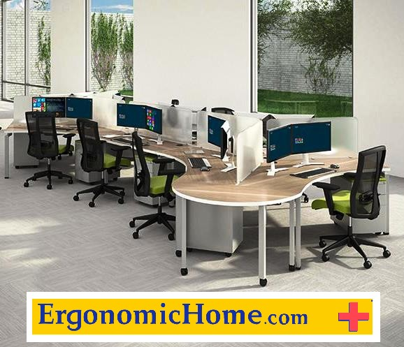 Fixed Height Modular Control Room Workstations