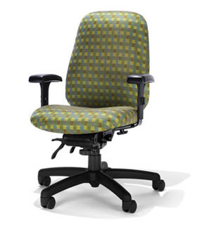 Ergonomic Home Petite Medium Back Chair #RFM-5845-25A