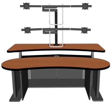 Ergonomic Home Control Room Furniture #RFQ-1921-72-NS | | <font color=red>FREE SHIPPING</font>