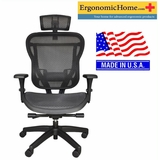 Rika All Mesh Chair W/Headrest Cool & Comfy #RIKB-RAHR