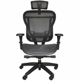 Rika All Mesh Chair W/Headrest #RIKB-RAHR