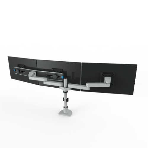 Triple Monitor Arm by Innovative #9163-SWITCH-S-14-FM