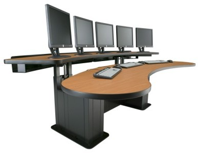 Viking Banana Table Ergonomic Desk #BAN-32