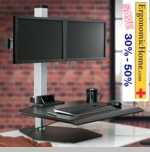 Adjustable Winston Dual Monitor Stand #WSTN-2