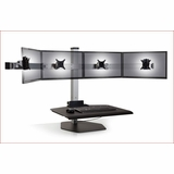 Winston Quad Monitor Stand #WNST-4-FS | Adjustable & Free Standing