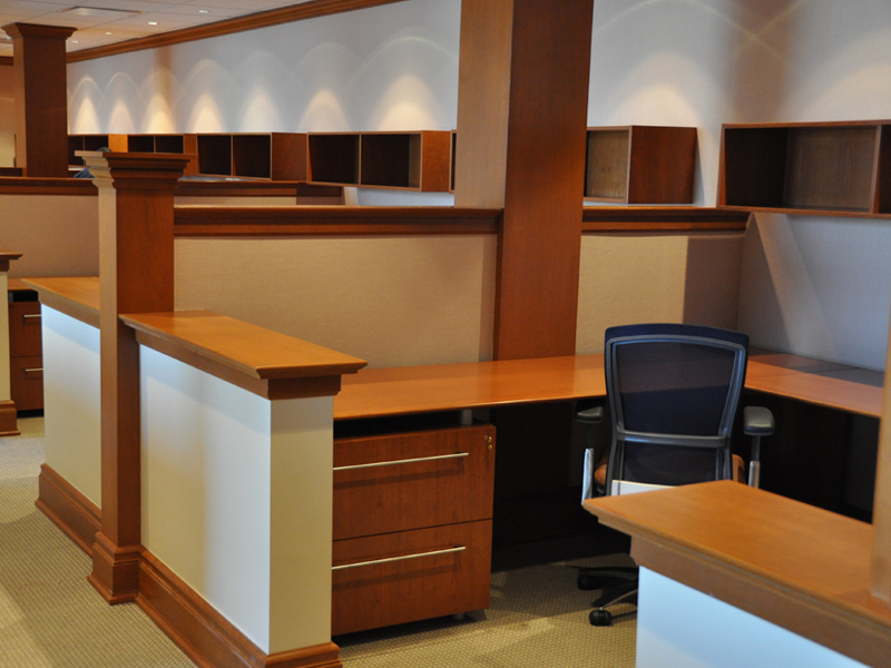 Wood Office Furniture Workstations