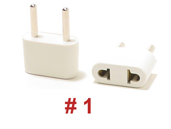 #1 UNGROUNDED PLUG ADAPTER