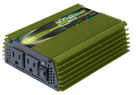 400 WATT POWER INVERTER - MILITARY 24 VDC TO 110 VAC