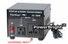 750 WATT VOLTAGE CONVERTER  STEP UP / STEP DOWN TRANSFORMER