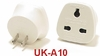 #UK-A10 UNGROUNDED PLUG ADAPTER