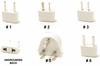 UNGROUNDED WORLD PLUG ADAPTER KIT