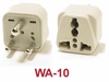 WA-10 GROUNDED PLUG ADAPTER