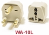 WA-10L GROUNDED PLUG ADAPTER