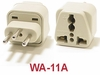 WA-11A GROUNDED PLUG ADAPTER