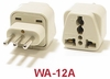 WA-12A GROUNDED PLUG ADAPTER