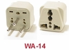 WA-14 GROUNDED PLUG ADAPTER