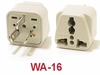 WA-16 GROUNDED PLUG ADAPTER
