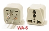 WA-5 GROUNDED PLUG ADAPTER