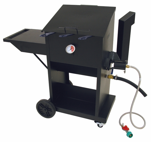 9 Gallon Bayou Classic Outdoor Fryer With Three Stainless