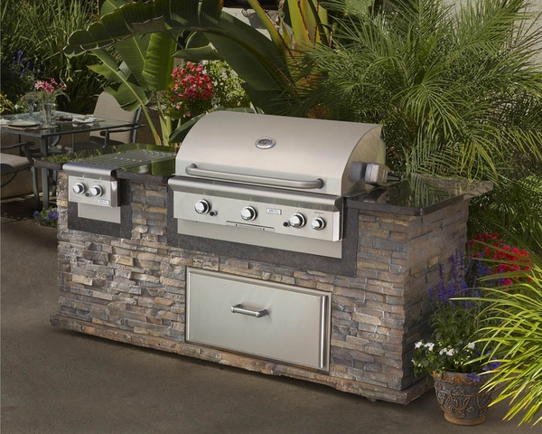 AOG 30 Inch Built In Grill NG Or Propane 40000 BTUs Free Shipping