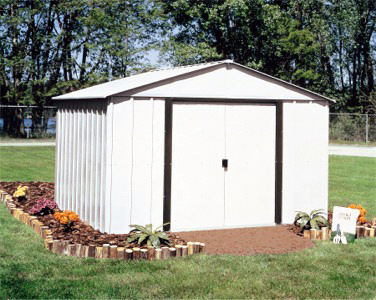 Storage Shed Can Be Strictly Utilitarian And Stuck Off In A Corner  Somewhere To Keep Tools And Other Items Out Of The Weather And Out Of Sight.