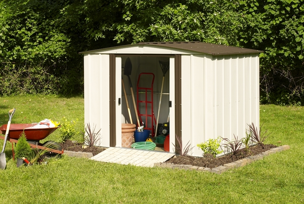Large Variety Of Metal Shed Accessories To Make That Storage Building Exactly What You Need And Get The Most Out Your