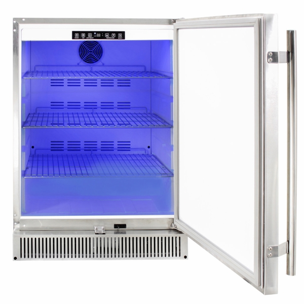 Blaze Blz Ssrf 50dh 5 2 Cu Outdoor Rated Stainless 24 Inch