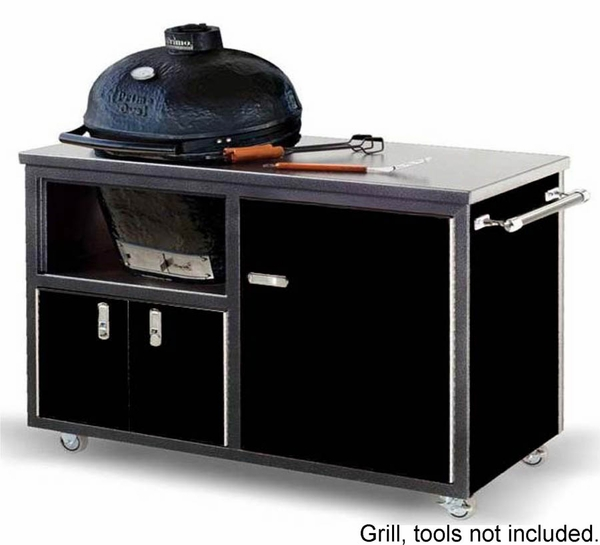 Challenger 48 Inch Ceramic Grill Cart For Primo Kamado Grill