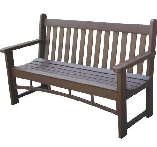 Eagle One Santa Fe Recycled Plastic Patio Bench - DDT2455