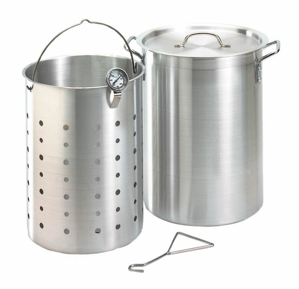 Fire Magic 26 Quart Turkey Frying Pot Kit Aluminum With