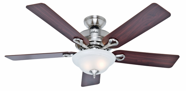Hunter 51014 Kensington Ceiling Fan With Blades And Light Kit