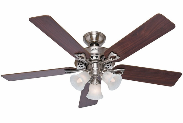 Ceiling Fans gt Hunter 53116 Sontera Ceiling Fan with Blades Light Kit