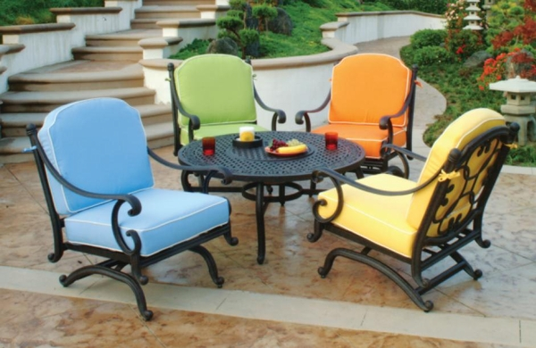 Unique patio furniture sets with gas fire pit trend home design and