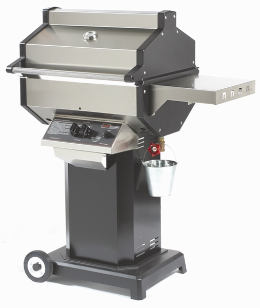 Phoenix Scottsdale Propane Grill On Portable Base With 2