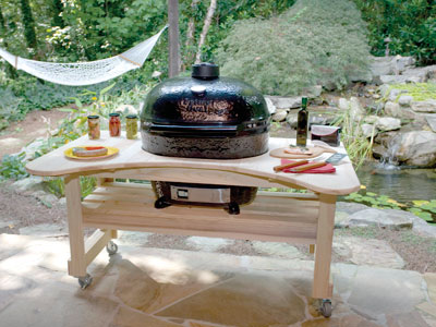 Primo Oval Extra Large Ceramic Outdoor Charcoal Barbecue