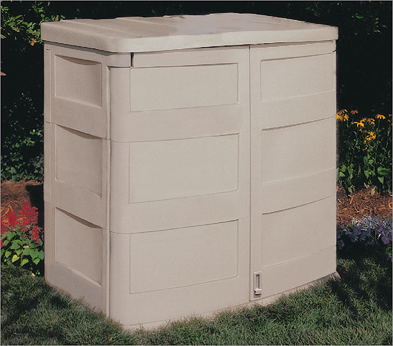 Storage shed 4 x 3 ft