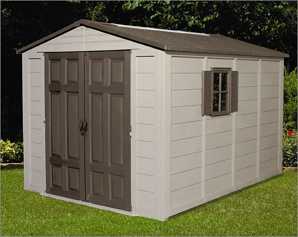 10 x 12 resin shed