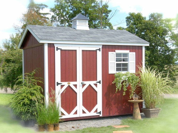 Home > Storage Sheds > Wood Sheds > The Workshop Wood Garden Storage