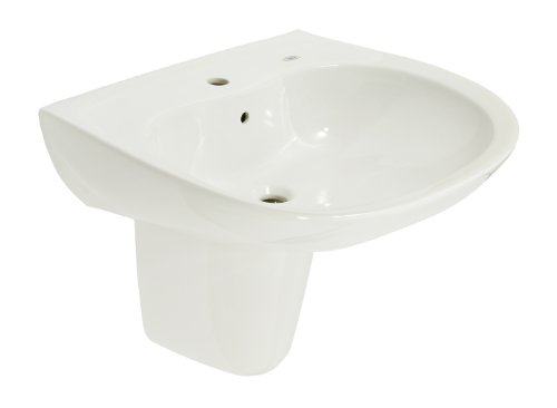 TOTO LHT242G Prominence Wall Mounted Vitreous China Bathroom Sink with ...