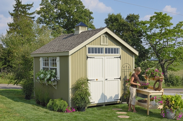 Home > Storage Sheds > Wood Sheds > Williamsburg Colonial Wooden