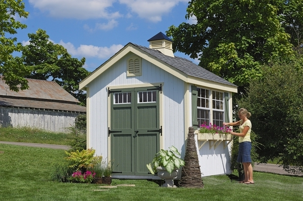 f6e332816a0 Sheds  gt  Wood Sheds  gt  Williamsburg Colonial Wooden Outdoor Garden
