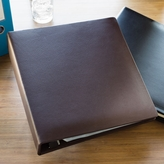 A4 Faux Leather Binder