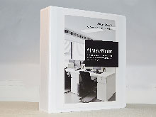 "A4 Heavy Duty View Binder - 2.5"" Spine"